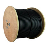 Carrucha Coaxial 2 Hilos Siames Rg59 Cable Cctv 305m Iflux