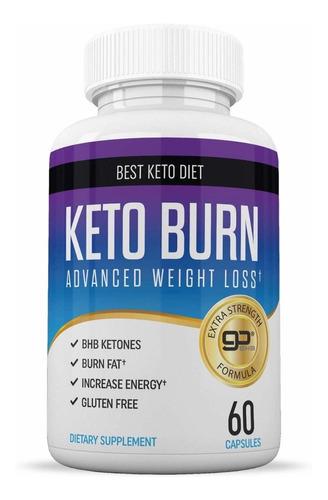 Keto Burn (quemador Grasa, No Genérico 100%original, Nuevo)