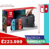 Nintendo Switch Neon,nuevo Y Sellado Con Factura Electronica