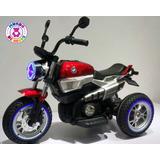 Moto Electrica De Ninos - Triciclo Eléctrico (rojo & Azul)