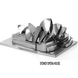 Acero Inoxidable 3d Rompecabezas Aipin Modelo Sydney Opera H