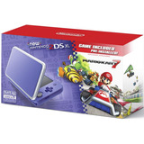 New Nintendo 2ds Xl Purpura Plata Mario Kart 7