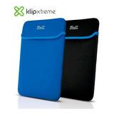 Funda Para Laptop Kilpextreme  Reversible Negro/azul Nueva!