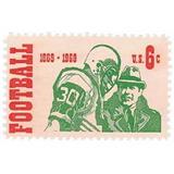 Us Sc #1382 - 1969 6c Intercollegiate Footbal Con Matasello.