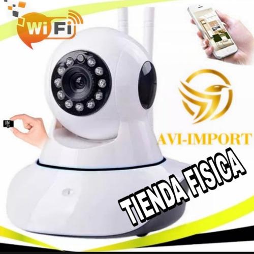 Cámara Ip Robótica Wifi Infrarroja Hd. !!tienda Física¡¡