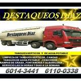 Septicos Destaqueos Diaz Limpieza Drenajes6014-3441 86826626