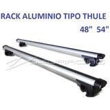 Rack Universal Tipo Thule C/ Llave Para Techo  48 PuLG