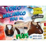 Toro Mecanico Inflables San Jose