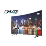 Pantalla Sankey 49  Curved, Smart Tv, Full Hd