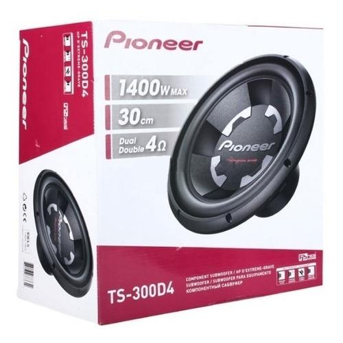 Subwoofer Pioneer 30cm 1400w Doble Bobina Playsound