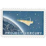 Us Sc #1193 - 1962 4c Project Mercury Con Matasello.