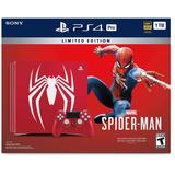 Playstation 4 Ps4 1tb Spider-man Techmovil