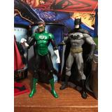 Figuras De Batman Y Green Lantern