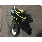 Tacos Nike Mercurial Para Niño. Talla 38,5