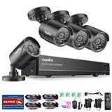 Sistema Vigilancia Camara Seguridad 1500tvl Hdmi 8ch 4ch Dvr