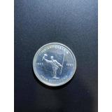 Moneda Conmemorativa De Plata De Costa Rica 300 Colones Jmg