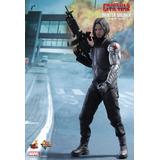 Figura Hot Toys Winter Soldier ( Bucky ) Escala1/6 Civil War