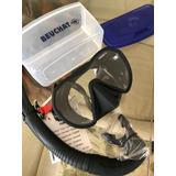 Mascara De Buceo Beuchat Maxlux Con Snorkel Spy