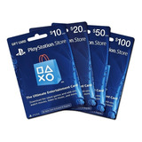 Tarjeta Psn Playstation Network 50-20-10$$