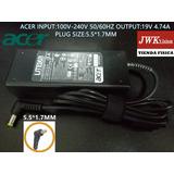 Cargador Laptop Acer Original 19v 4.74a Plug5.5*1.7mm Jwk