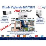 Sistema De Seguridad Nvr Hikvision 2 Cámaras Digitales 1tb