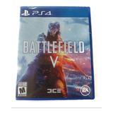 Battlefield V Ps4 Nuevo Sellado