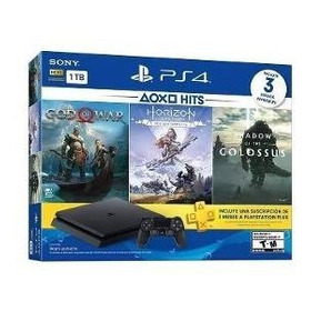 Playstation 4 Slim 1tb + Juegos Gow Horizon Colossus