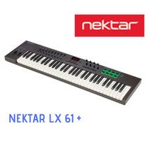 Teclado Controlador Usb 5 Octavas Nektar Impact Lx 61+