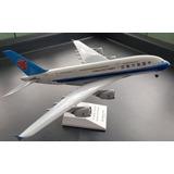 Avión Comercial A Escala 1/200. Marca Sky Marksa380-800