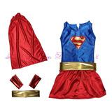 Disfraz De Super Woman, Super Chica. La Costura De Raymi.