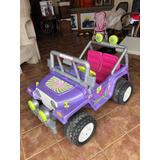 Carro Eléctrico De La Barbie  Power Wheels