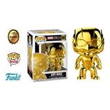 Funko Pop Dorado Marvel 10 Años Ant Man 384