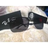 Ray Ban P Rb 3524  Matte Gunmetal Sunglasses Polarizado Orig