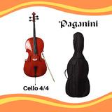 Cello De 4/4 Marca Paganini Para Estudiante