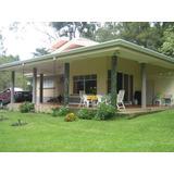 Ma Vende Hermosa Casa Con Amplio Lote San Rafael Heredia