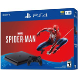 Playstation 4 Slim 1 Tb+spiderman Fact Electronica Playsound