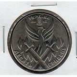 Moneda De Ucrania 10 Hryven Dia Del Voluntario # 5081 Apo