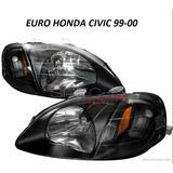 Focos Euros Civic 99 - 00  Jdm , 2 Y 4 Puertas Oferta