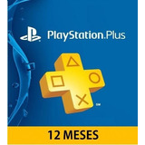 Playstation Plus 12 Meses Oferta