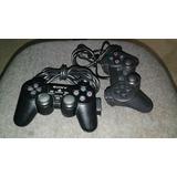 Controles Dual Shock 2 Sony Playstation Ps2 Perfecfo Estado