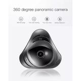 Camara Wifi Hd Ojo De Pescado 360º Panoramica Graba Y Transm