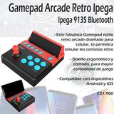 Gamepad Arcade Retro Ipega 9135 Bluetooth
