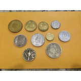Lote De 10 Monedas Internacionales 012 Jmg
