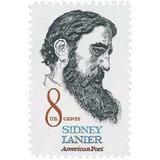 Us Sc #1446 - 1972 8c Sidney Lanier Con Matasello.