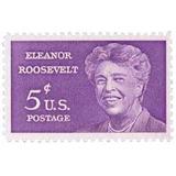 Us Sc #1236 - 1963 5c Eleanor Roosevelt Con Matasello.