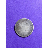 Moneda Antigua De Costa Rica Plata 5 Centavos 1887 Jmg