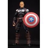 Figura Steve Rogers Capitan America Marvel Legends