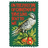 Us Sc #1445 - 1971 8c Christmas Partridge&pe  Con Matasello.