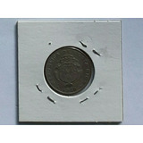 Moneda Antigua De Costa Rica Año25 Centimos 1948,rema.