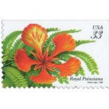 Us Sc #3311 ¿ 1999 33c Royal Poinciana, Usada Con Matasello.